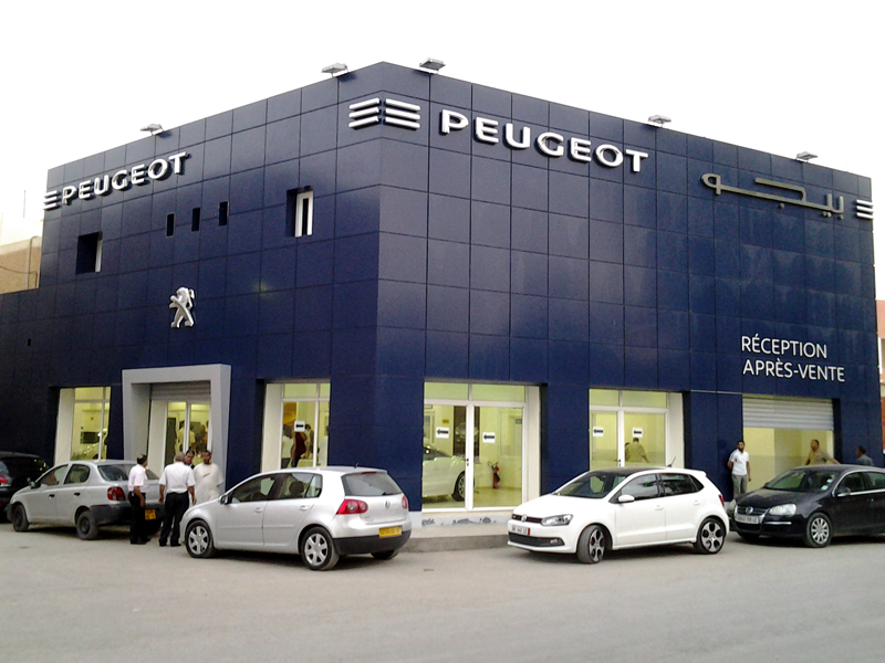 dzautos magazine automobile peugeot s 39 installe biskra. Black Bedroom Furniture Sets. Home Design Ideas