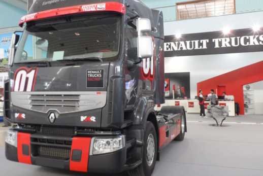 dzautos magazine automobile renault truck lance un. Black Bedroom Furniture Sets. Home Design Ideas